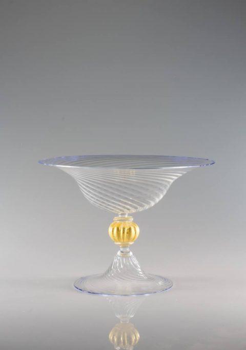 Alzatina Gambo Sfera Solida Oro | Cortella & Ballarin snc